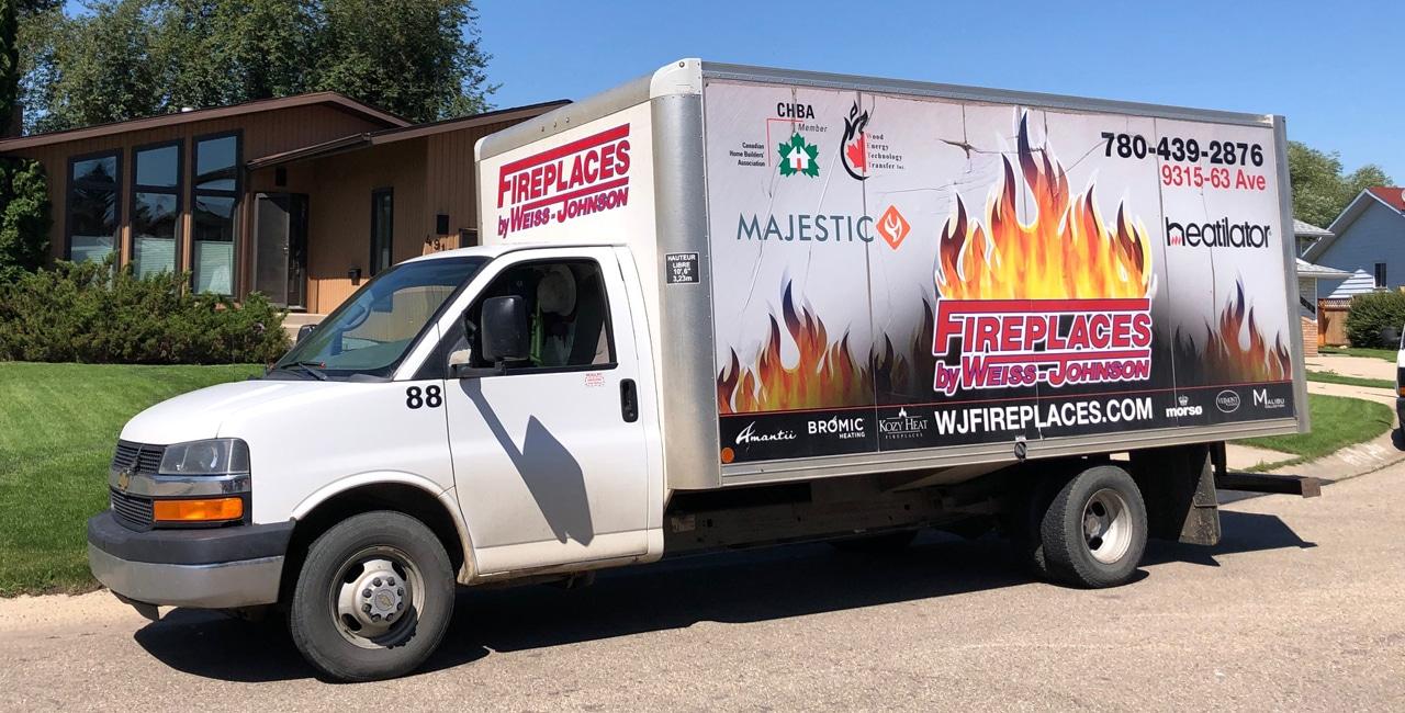 fireplace repair van